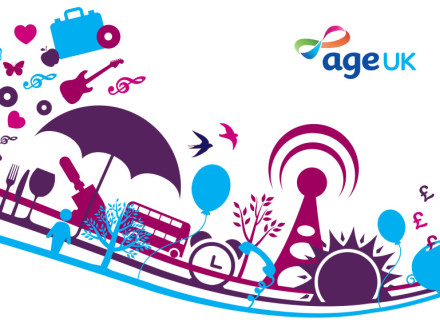 Age UK - The Wireless identity design